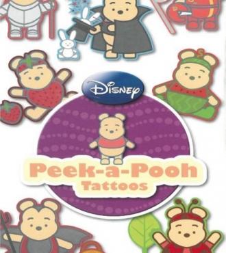 Peek a Pooh Tattoos (Flat Pack Tattoos)