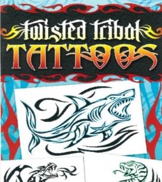 Twisted Tribal Tattoos (Flat Pack Tattoos)
