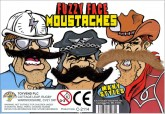 Fuzzy Face Moustaches