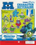 Monster Inc University Keychains