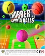 Rubber Sports Balls (45mm self vend)