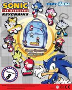 Sonic the Hedgehog Keychains (50mm)