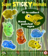 Super Sticky Animals (50mm)