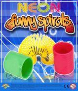 Neon Funny Spirals (50mm)