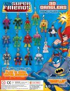 DC Super Friends 3D Danglers (50mm)