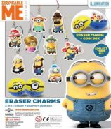 Despicable Me Eraser Charms (50mm)