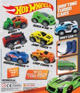 Hot Wheels Drifting Turbo Cars (50mm)