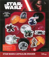 Star Wars Capsule & Eraser (50mm)