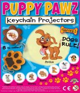 Puppy Pawz Keychain Projectors (50mm) TOYVEND EXCLUSIVE PRODUCT