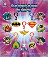 DC Comic Backpack Clips (50mm)