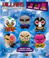 DC Villains - Buildable Figurines (50mm)