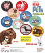 PU Balls - Secret Life of Pets (62mm)