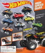 Hot Wheels High Speed Quads (50mm)