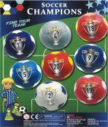 PU Balls - Soccer Champions (60mm)