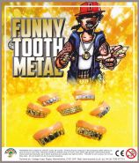 Funny Tooth Metal (50mm)