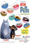 Hi Bounce Balls - Secret Life of Pets (45mm)