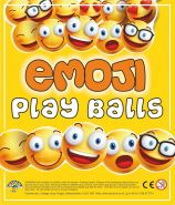 Emoji Play Balls (55mm)