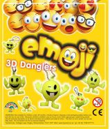 Emoji 3D Danglers (50mm)