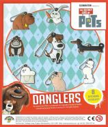 Secret Life of Pets Danglers (50mm)