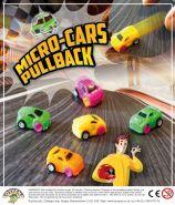 Micro Pull Back Car (50mm)