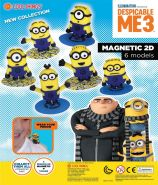 Despicable Me Magnetic 2D (50mm)