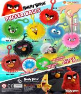 Angry Birds Puffer Balls (50mm)