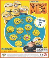 Minions Plush Danglers (50mm)