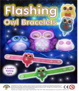 Flashing Owl Bracelets (50mm)