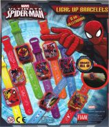 Spiderman Light Up Bracelets (50mm)