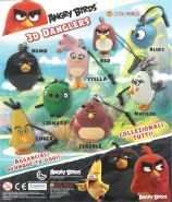 Angry Birds 3D Dangler (50mm)