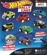 Hot Wheels Rally Cars (50mm)