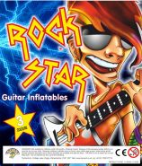 Rock Star Inflatable Guitar (95mm)