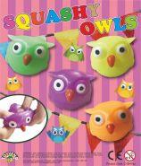 Squashy Owls (50mm)