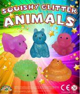 Squishy Glitter Animals (50mm)
