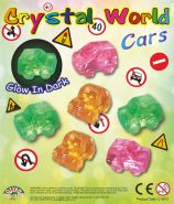 Crystal World Cars (50mm)