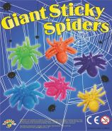 Giant Sticky Spiders (50mm)