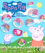 Peppa Pig Rings (50mm)