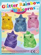 Glitter Rainbow Unicorns (35mm)
