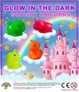 Squishy Glow in the Dark Unicorns (50mm)