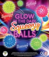 Glow in the Dark Squeezy Balls (50mm)