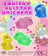 Squishy Glitter Unicorns (50mm)