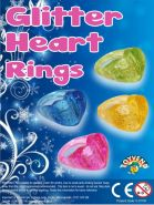 Glitter Heart Rings (35mm)