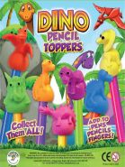 Dino Pencil Toppers (35mm)